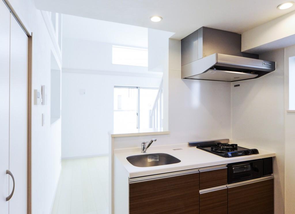 前回施工例:賃貸部分キッチン