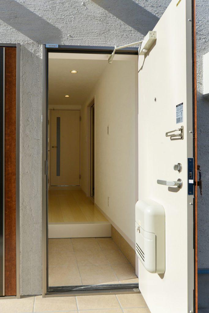前回施工例:玄関