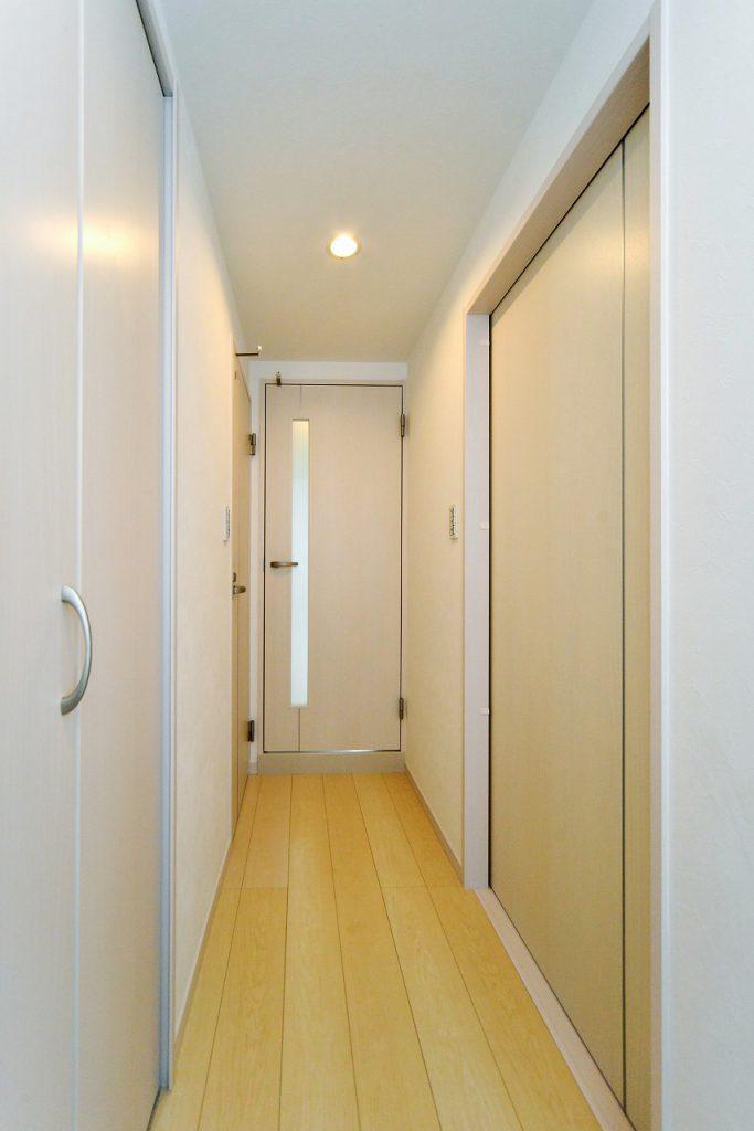 前回施工例:廊下