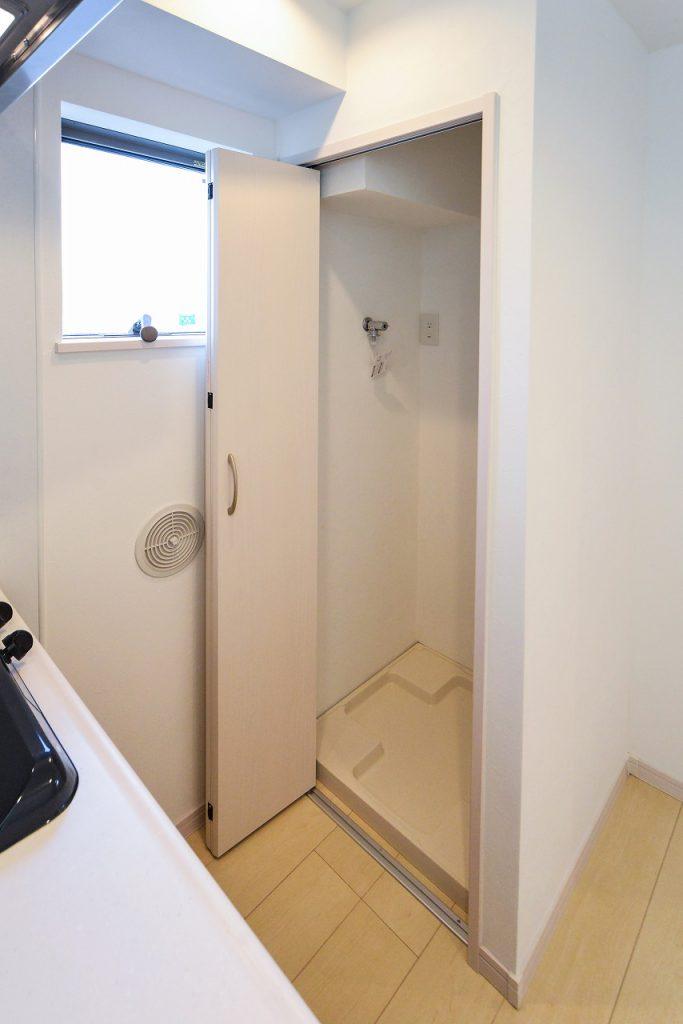 前回施工例:賃貸部分洗濯機置き場