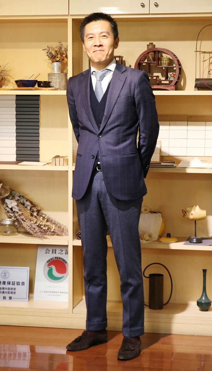 笑顔の岡田裕樹